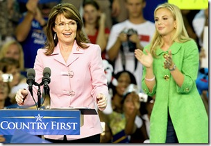 sarah palin and elisabeth hasselback in florida