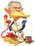 george w. bush as a lame duck