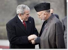 President Bush and Karzai
