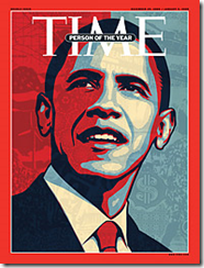Obama on the cover of TIME