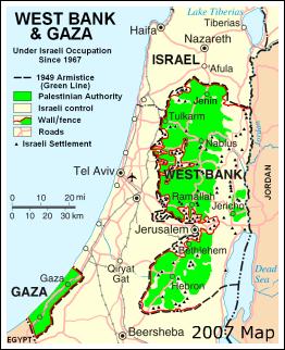 gaza-west_bank-israel_map