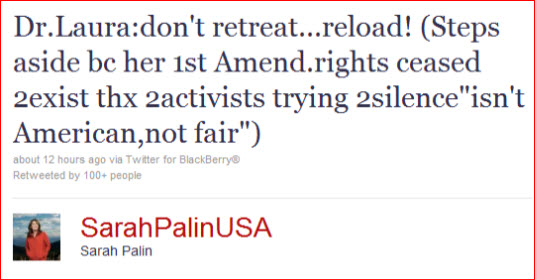 palin-defends-dr-laura-on-twitter-1