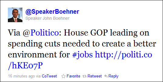 speaker-john-boehner-tweets-lies-about-spending-cuts-and-jobs